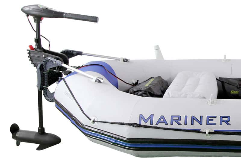Inflatable boat with motor | PumpupBoats com