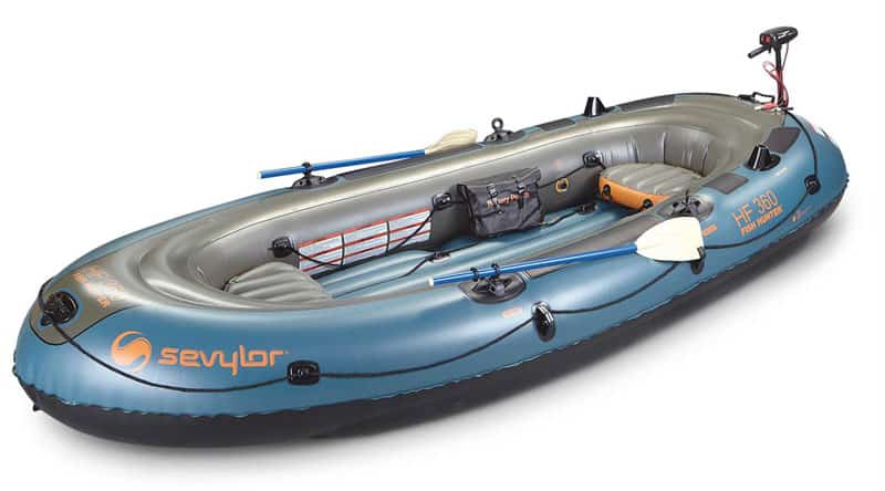 Inflatable boat with motor (Best boat-motor pairings) 2