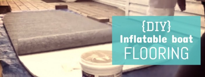 5 step DIY floor for inflatable boats