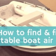 What to do if your inflatable boat gets punctured while out on the water 4
