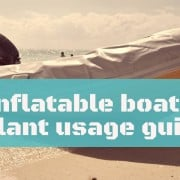 What to do if your inflatable boat gets punctured while out on the water 5