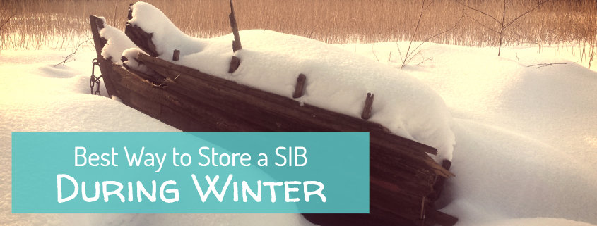 Best way to store an inflatable boat during winter