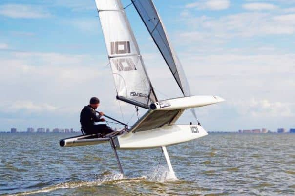 Hydrofoil on a motorized SIB: yes or no? 6