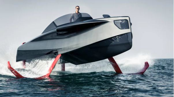 Hydrofoil on a motorized SIB: yes or no? 8