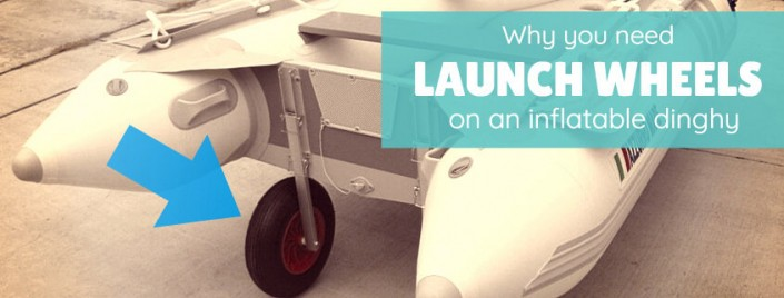Why you need launch wheels for your inflatable dinghy
