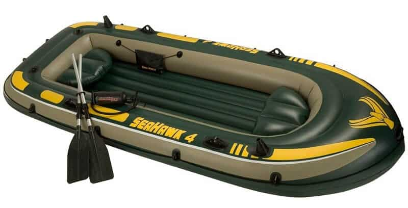 Intex Seahawk 4 Inflatable Raft 2