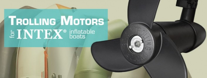 Trolling motors for Intex inflatable rafts