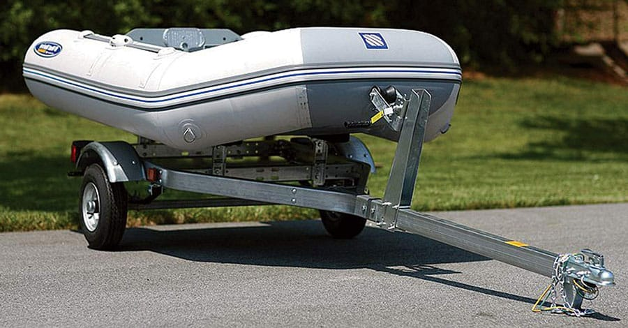 Ce Smith Galvanized Steel Boat Trailer