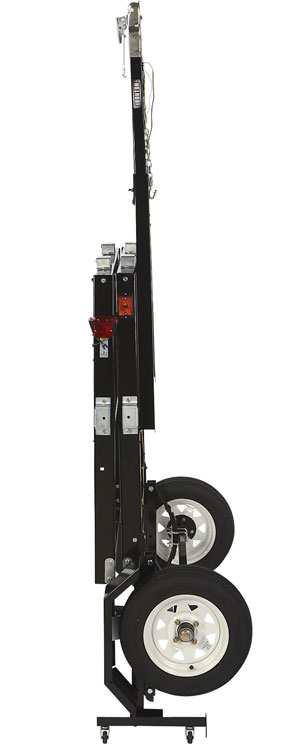 Ironton Steel Folding Trailer Kit Upright