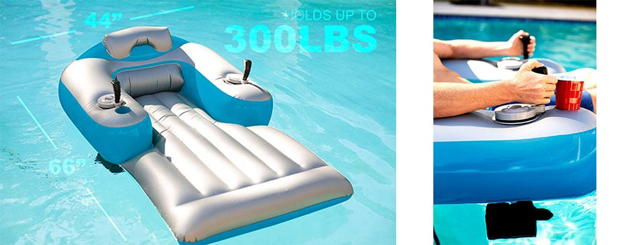 Poolcandy Splash Runner Motorized Pool Lounger