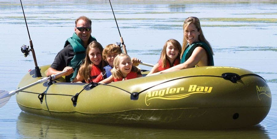 Airhead Angler Bay 6 Person Inflatable Raft