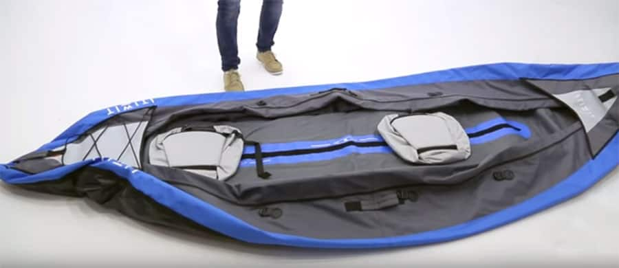 How To Inflate Kayak Steps 1