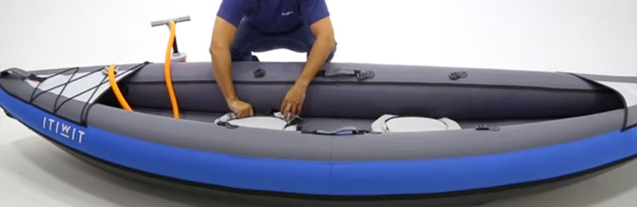 How To Inflate Kayak Steps 4