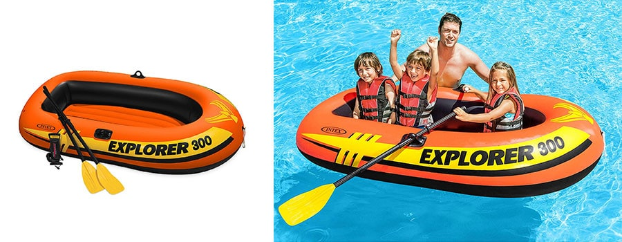 Intex Explorer 300 Pool Raft