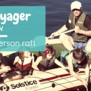 Solstice Voyager 6 Person Inflatable Raft