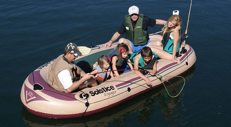 Solstice Voyager Inflatable Raft