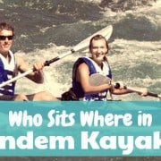 Tandem Kayak Seating Position
