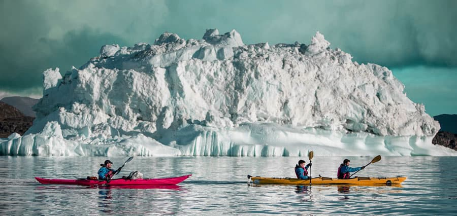 Greenland Winter Kayaking