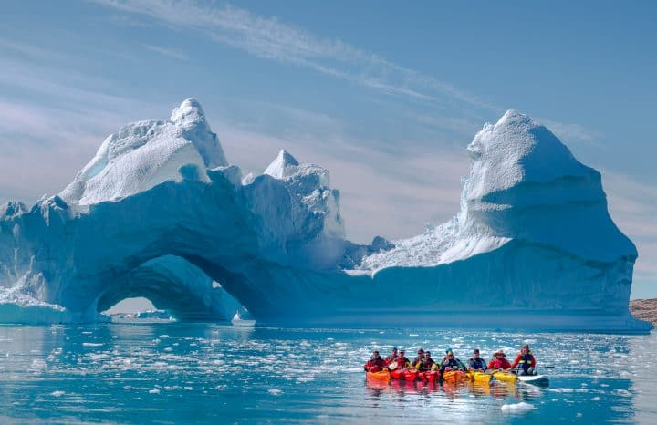 Iceland Winter Kayaking