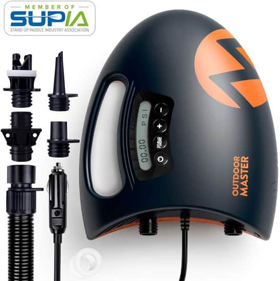 Outdoormaster High Pressure Air Pump The Shark