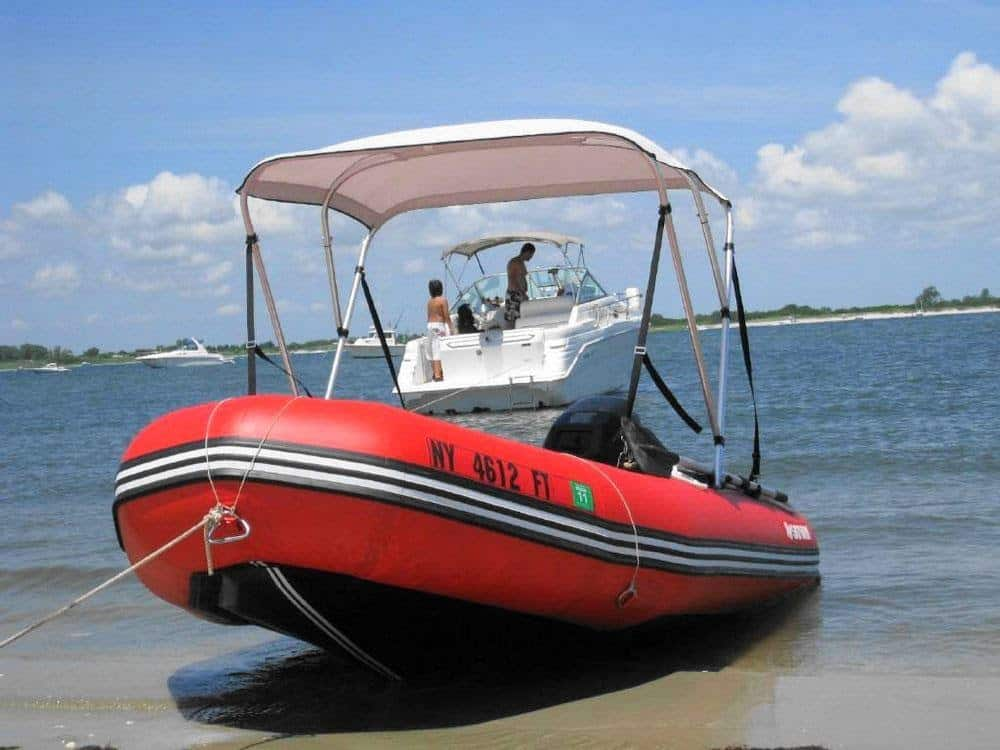 Inflatable Boat Canopy Saturn