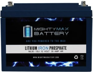 Mighty Max 35 Ah Lithium Battery