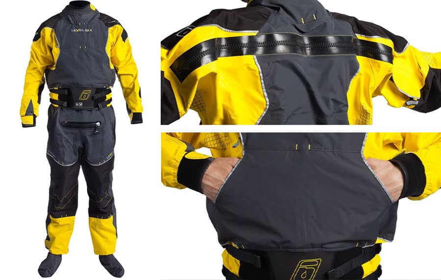 Level Six Emperor 3 0 Ply Drysuit Features