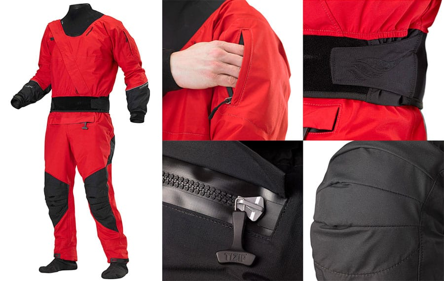 Stohlquist Amp Dry Suit Features
