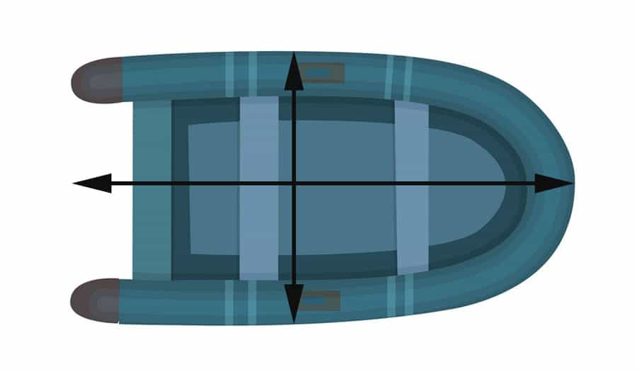 Inflatable Boat Cover Measurements