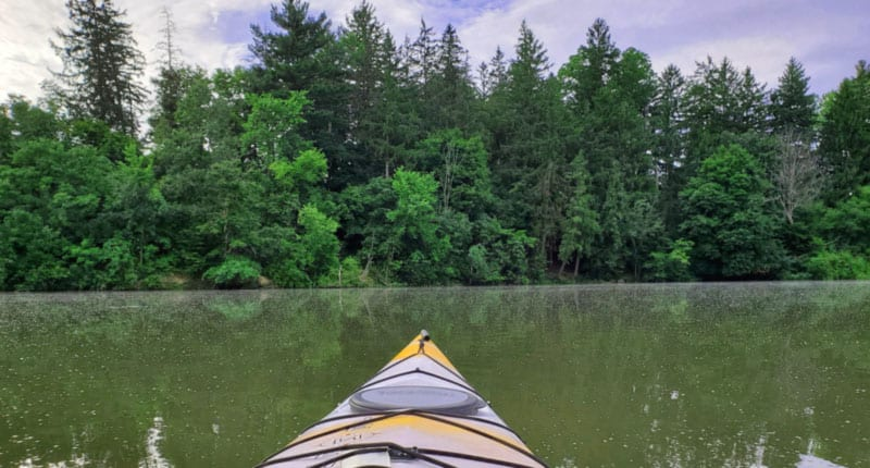 Hinckley Lake Kayaking Ohio