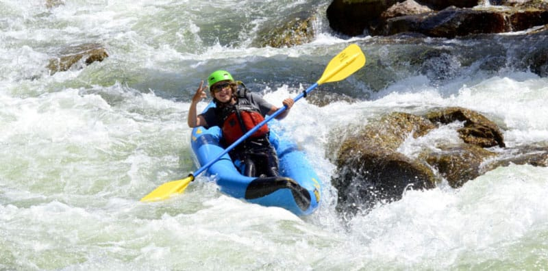 Arkansas River Whitewater Kayaking Colorado