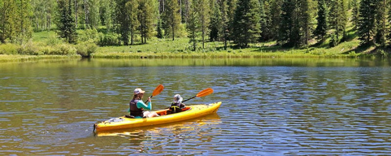 Kayak Pearl Lake Park Colorado