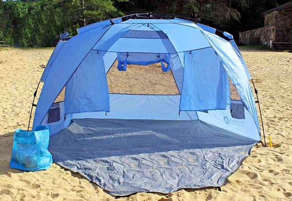 Easthills Outdoors Instant Shader Dark Shelter Xl Beach Tent
